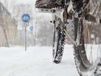 Dubbdäck på cykel
