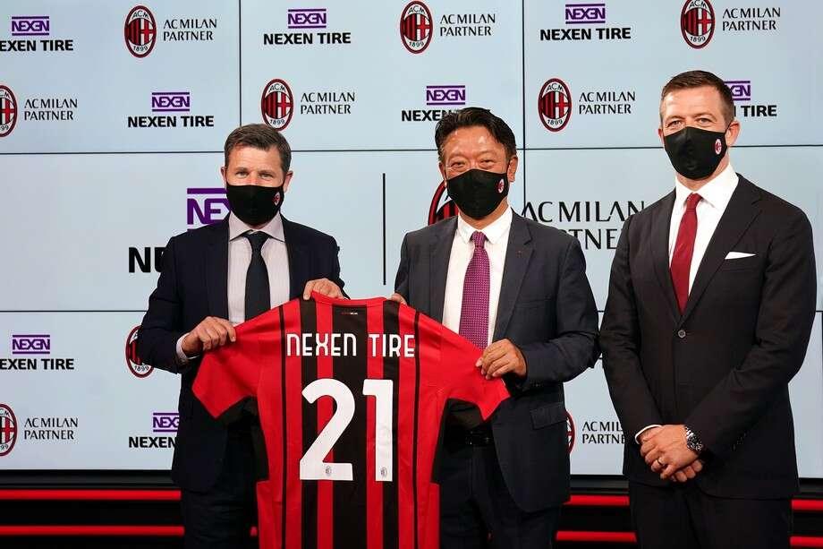 Nexen Tire i partnerskap med AC Milan